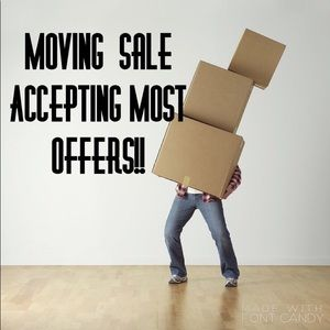 🚚Moving Sale-Accepting Most Offers🚚